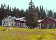 Vezhen hut Central Balkan